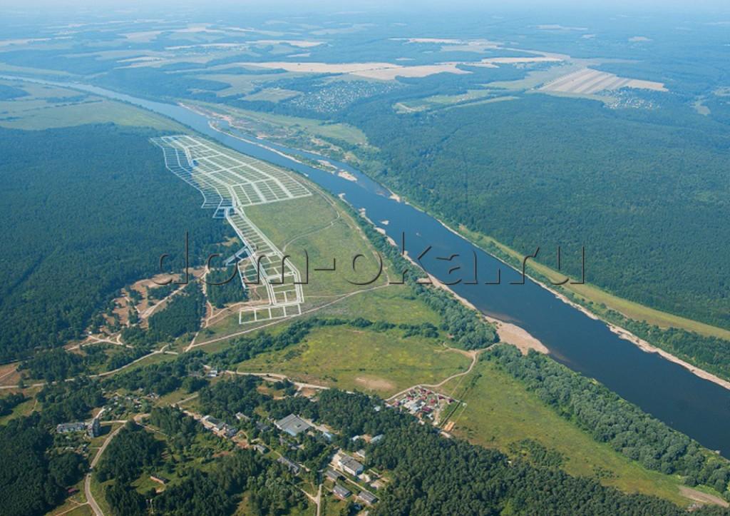 Участок у реки Ока