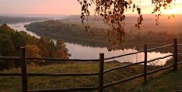 Заокский район, река Ока